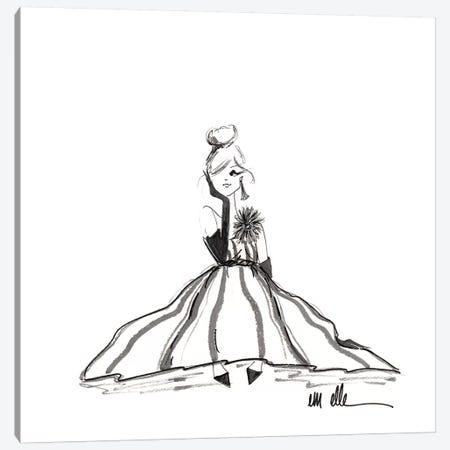 Evening Pause Canvas Print #MLE33} by Em Elle Canvas Art