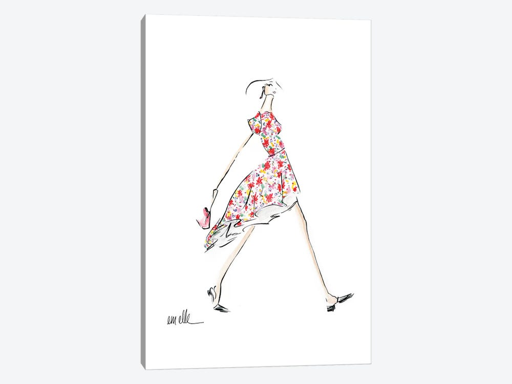 A Bright Day by Em Elle 1-piece Canvas Print