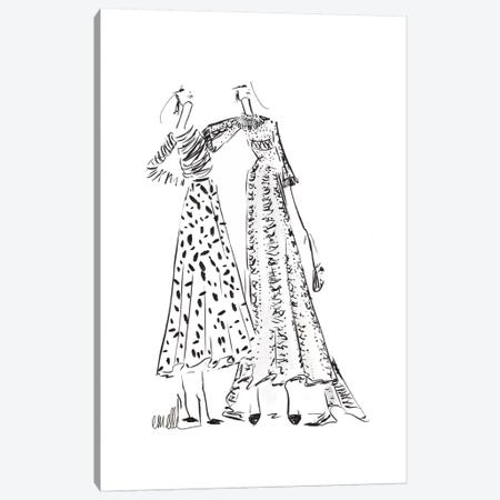 At The Shows Canvas Print #MLE37} by Em Elle Canvas Print