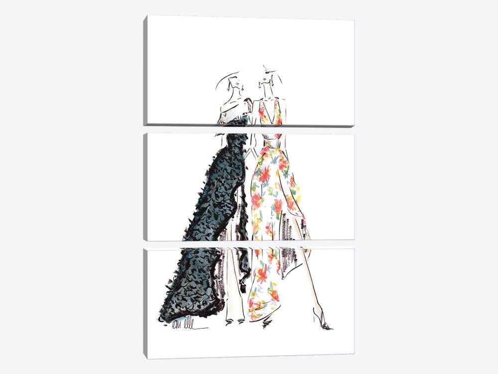 Our Night by Em Elle 3-piece Canvas Art Print