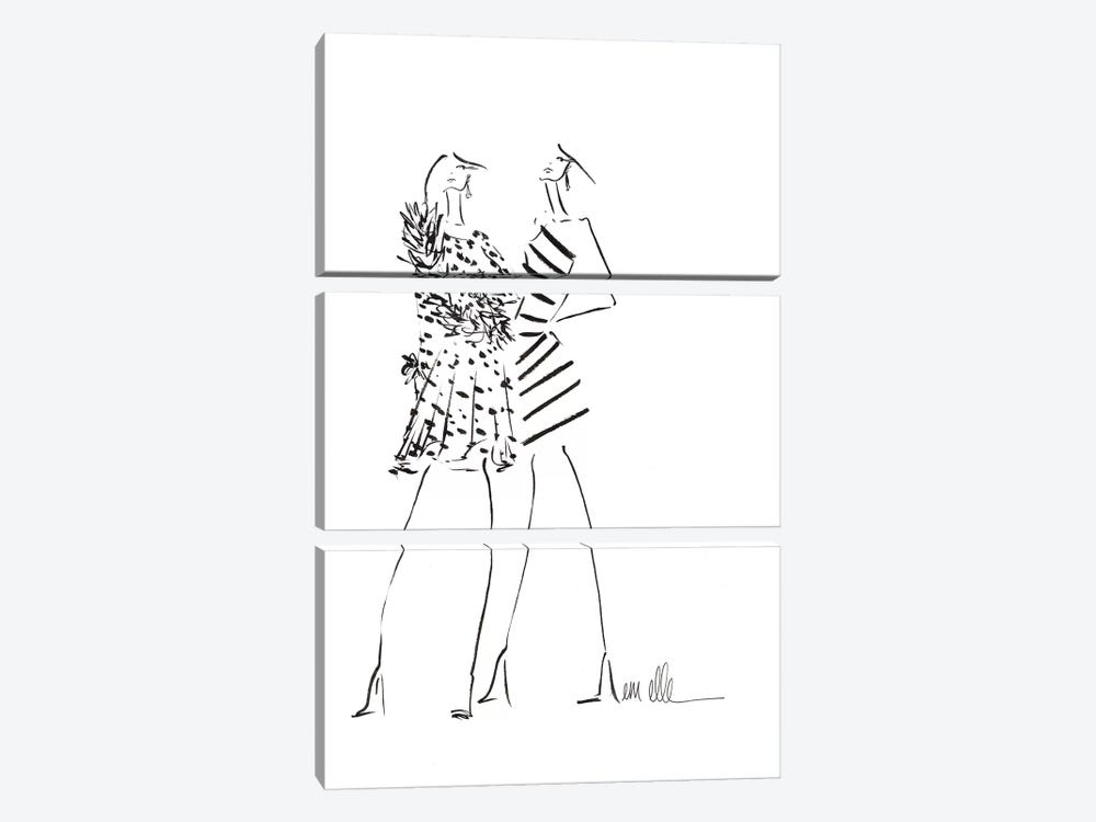 Stand Tall by Em Elle 3-piece Art Print