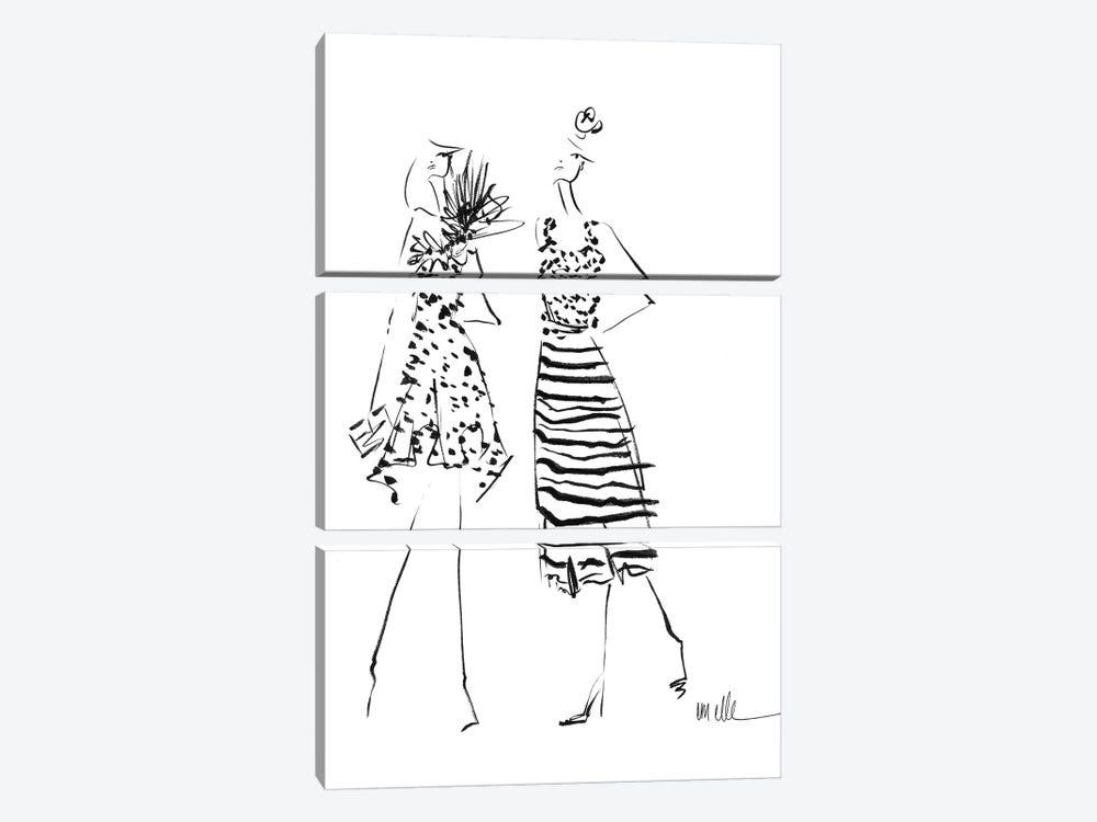 While We Wait by Em Elle 3-piece Art Print