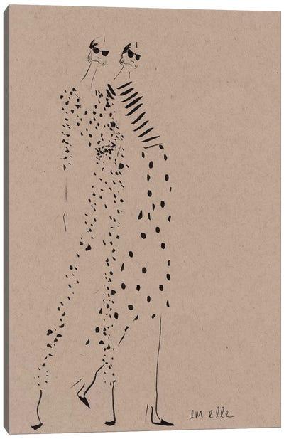 A Hint Canvas Art Print
