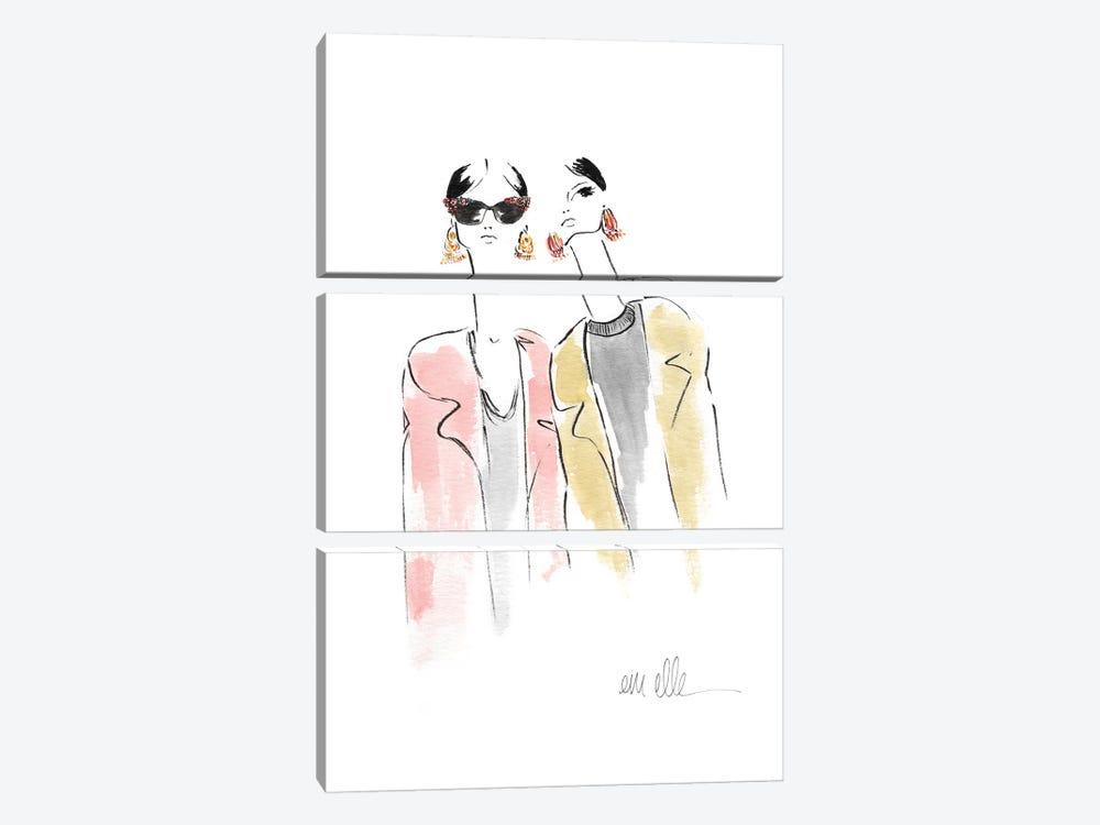 Backstage by Em Elle 3-piece Canvas Print