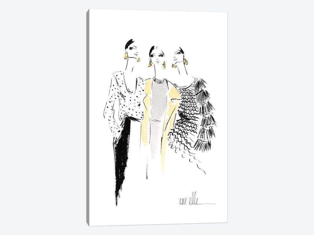 Girls by Em Elle 1-piece Canvas Print
