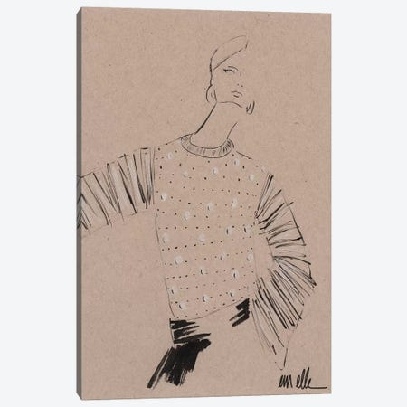 Remember Canvas Print #MLE57} by Em Elle Canvas Art Print