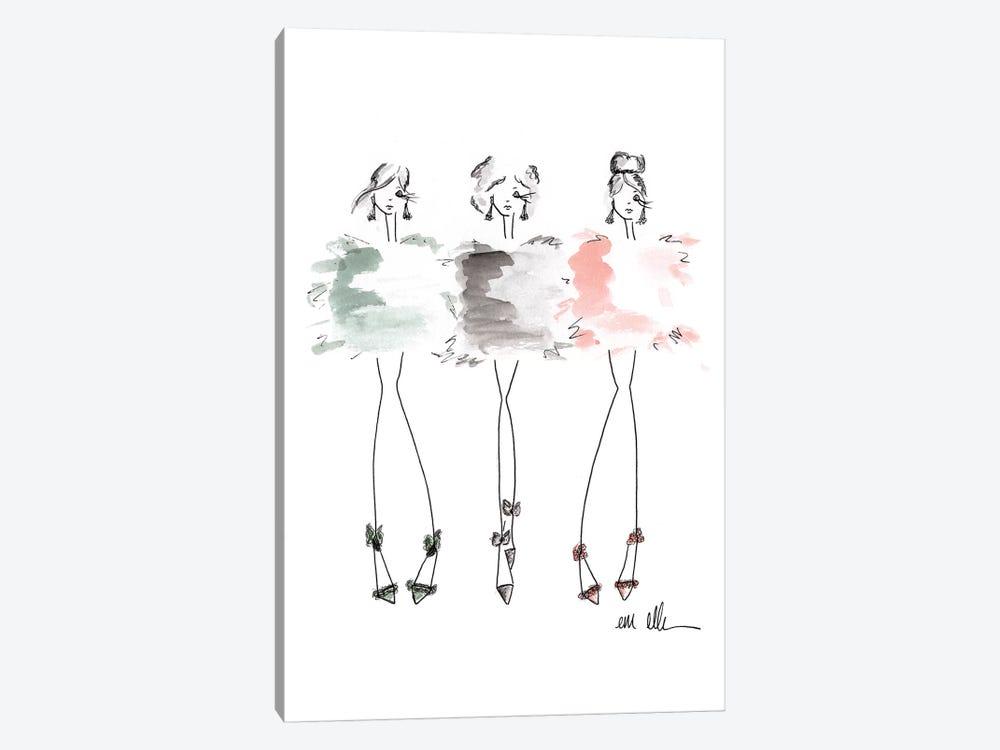 Best Friends by Em Elle 1-piece Art Print