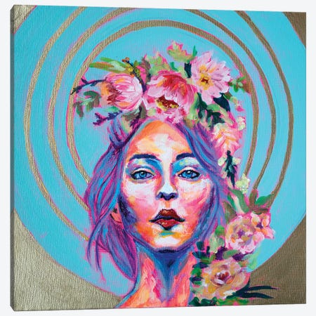 Divina Canvas Print #MLG5} by Michelle Green Canvas Wall Art