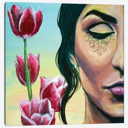 Divine Feminine Canvas Print #MLG6} by Michelle Green Canvas Art