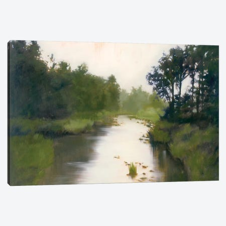 Foothill's Stream Canvas Print #MLI1} by Megan Lightell Canvas Art Print