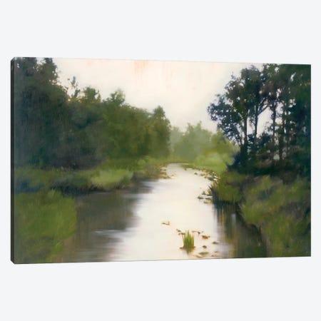 Foothill's Stream Canvas Print #MLI1} by Megan Lightell Canvas Art Print