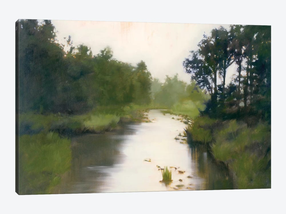 Foothill's Stream 1-piece Canvas Art