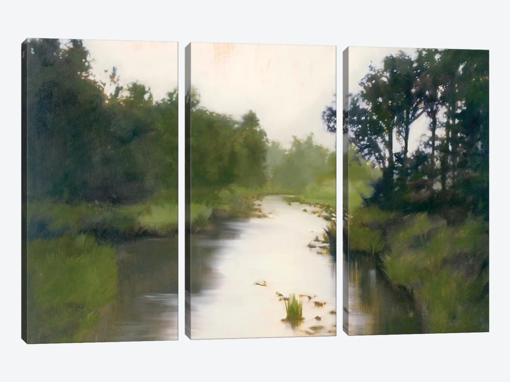 Foothill's Stream 3-piece Canvas Wall Art