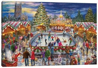 Winter Carnival Canvas Art Print