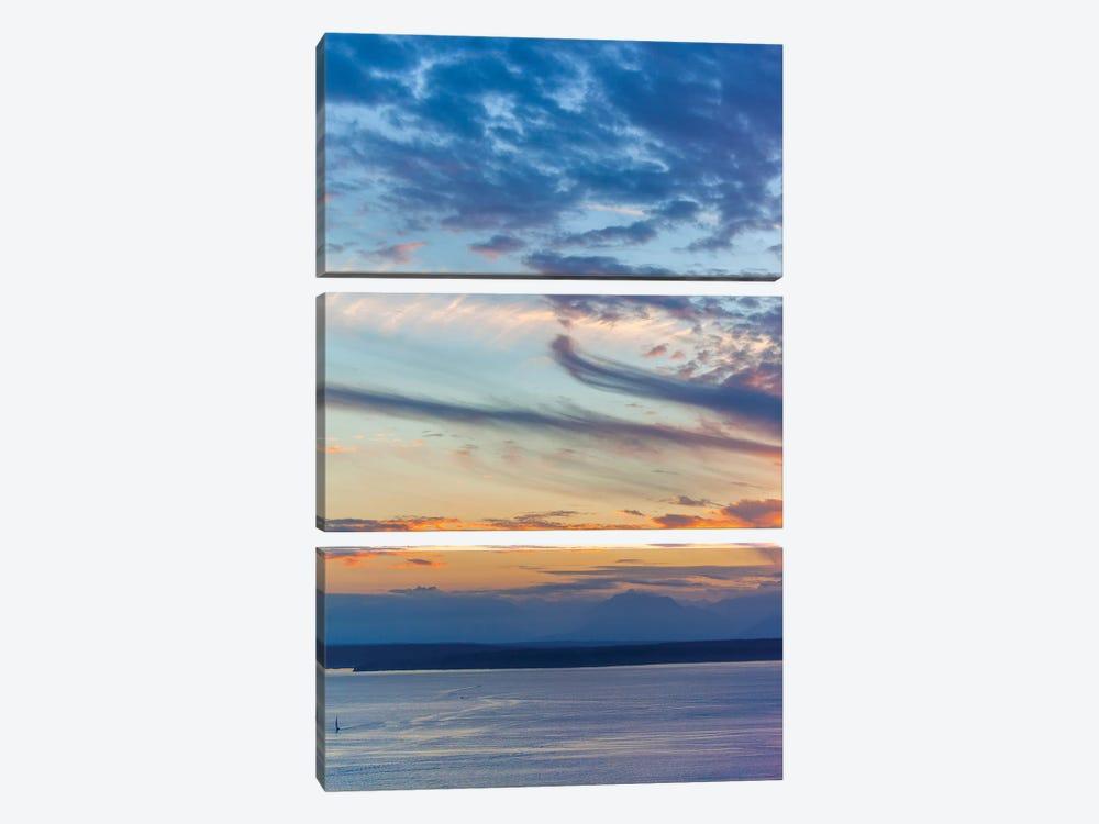Cloud Variations by Melissa Mcclain 3-piece Canvas Art