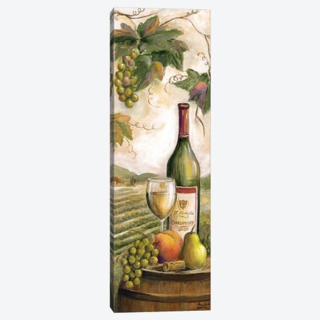 Wine Country White Canvas Print #MLN10} by Marilyn Dunlap Canvas Print