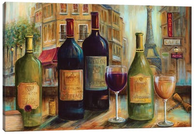 Bistro de Paris Canvas Art Print