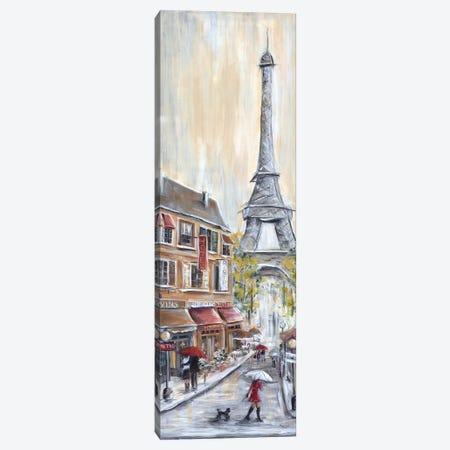 Paris Poodle Canvas Print #MLN15} by Marilyn Dunlap Canvas Artwork