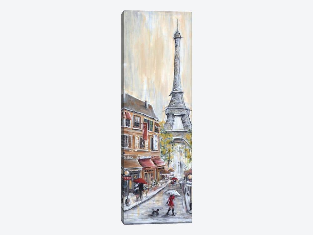 Paris Poodle by Marilyn Dunlap 1-piece Canvas Print