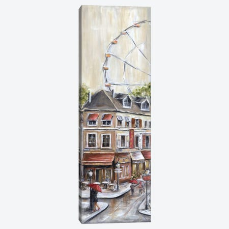 Paris Under the Ferris Wheel Canvas Print #MLN16} by Marilyn Dunlap Canvas Art