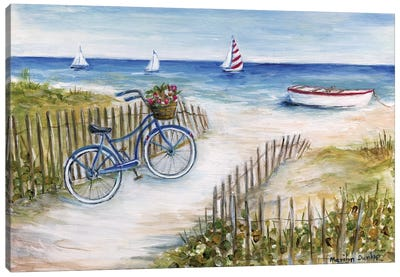Beach Ride I Canvas Art Print
