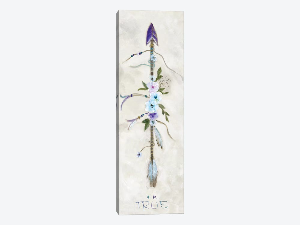 Boho Arrow II by Marilyn Dunlap 1-piece Canvas Print