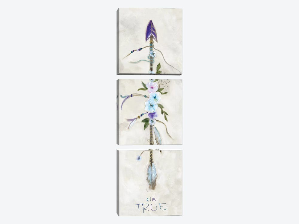 Boho Arrow II by Marilyn Dunlap 3-piece Canvas Art Print