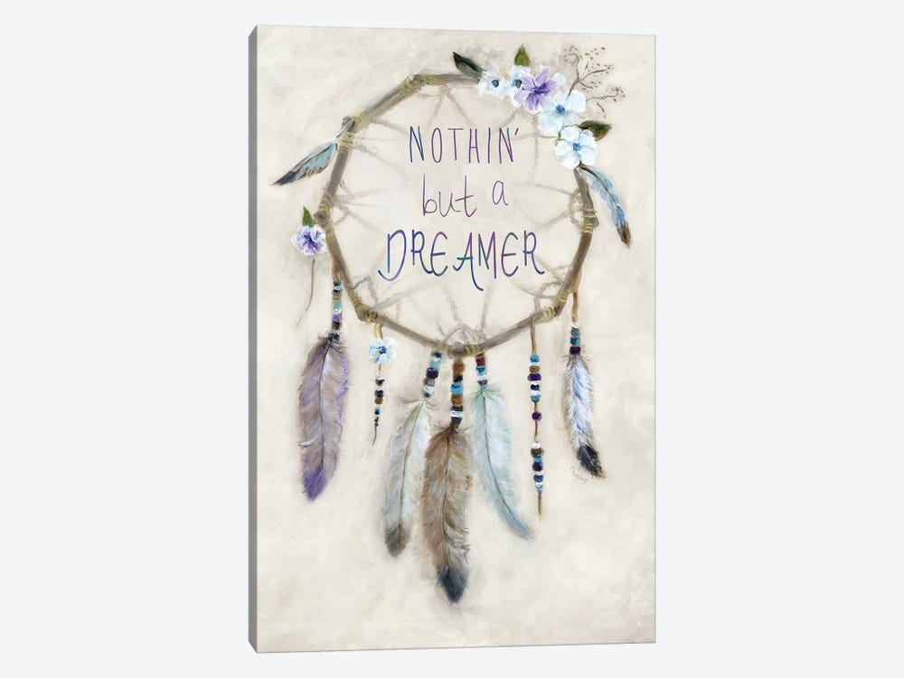 Boho Dreamcatcher by Marilyn Dunlap 1-piece Canvas Wall Art