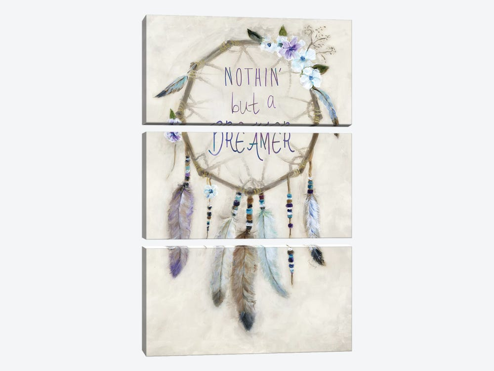 Boho Dreamcatcher by Marilyn Dunlap 3-piece Canvas Wall Art