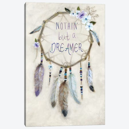 Boho Dreamcatcher Canvas Print #MLN4} by Marilyn Dunlap Art Print