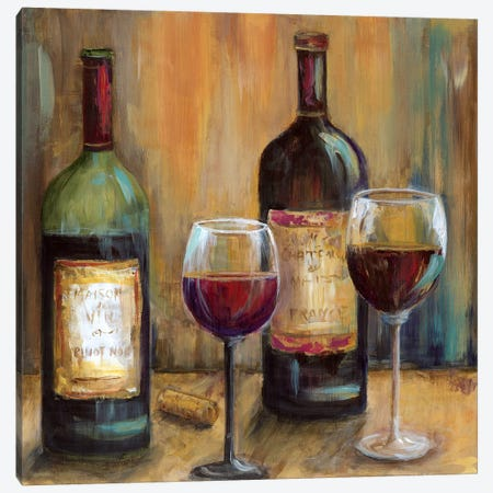 Elegant Reds Canvas Print #MLN5} by Marilyn Dunlap Canvas Print
