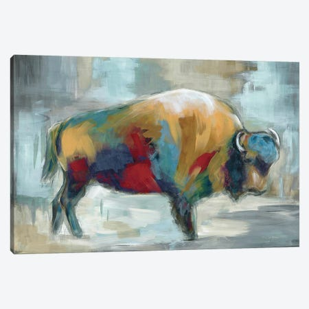 Wild and Free 3-Piece Canvas #MLN8} by Marilyn Dunlap Canvas Art