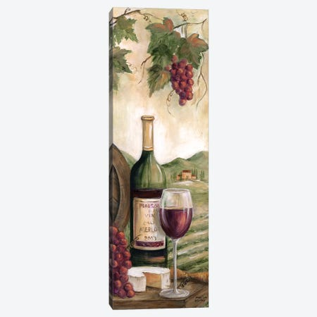 Wine Country Red Canvas Print #MLN9} by Marilyn Dunlap Canvas Artwork