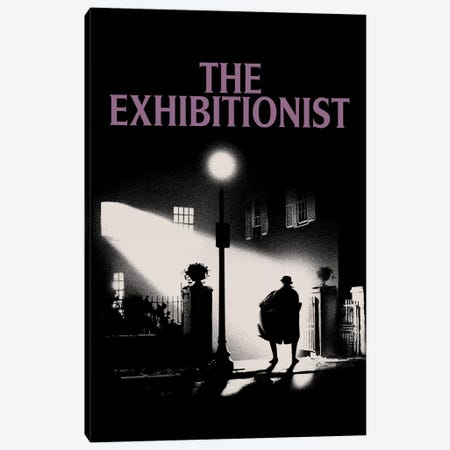 The Exhibitionist Canvas Print #MLO111} by Mathiole Canvas Artwork