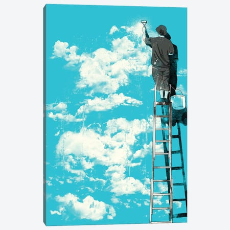 The Optimist Canvas Print #MLO112} by Mathiole Canvas Wall Art