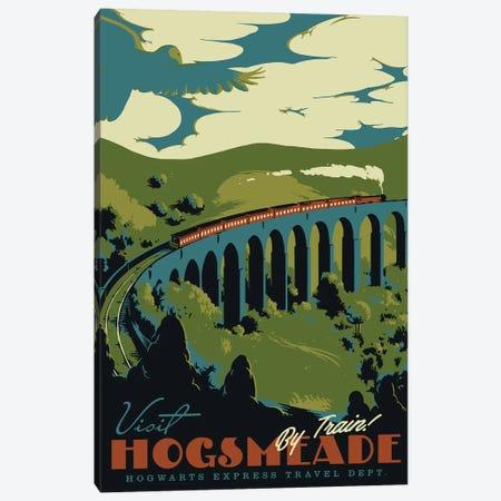 Visit Hogsmeade Canvas Print #MLO123} by Mathiole Art Print