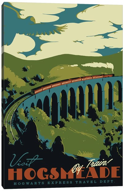 Visit Hogsmeade Canvas Art Print