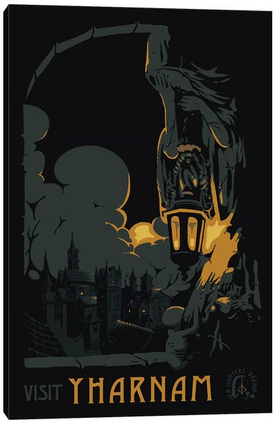 Visit Yharnam Canvas Art Print