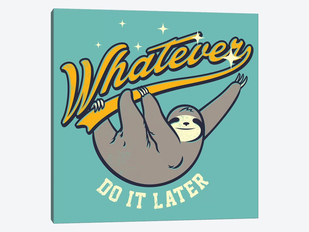 Whatever by Mathiole 1-piece Canvas Wall Art