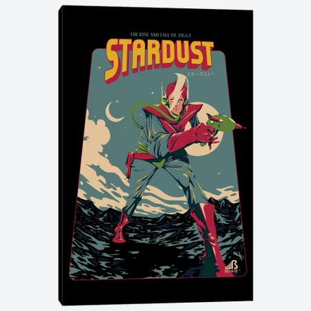 Ziggy Stardust Canvas Print #MLO136} by Mathiole Canvas Print