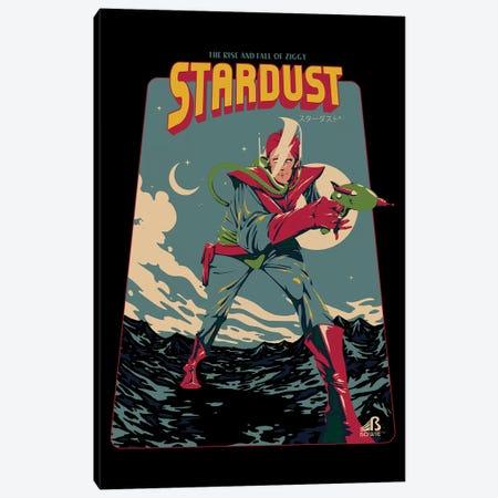 Ziggy Stardust 3-Piece Canvas #MLO136} by Mathiole Canvas Print