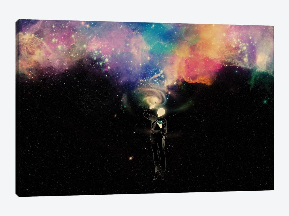 Creator II by Mathiole 1-piece Canvas Wall Art