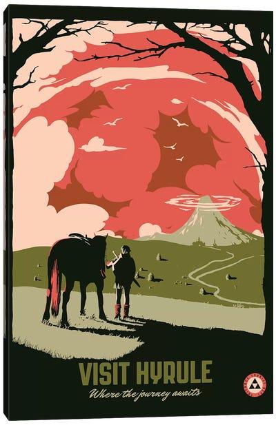 Visit Hyrule II Canvas Art Print