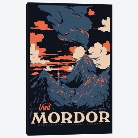 Visit Mordor II Canvas Print #MLO139} by Mathiole Canvas Art