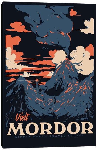 Visit Mordor II Canvas Art Print
