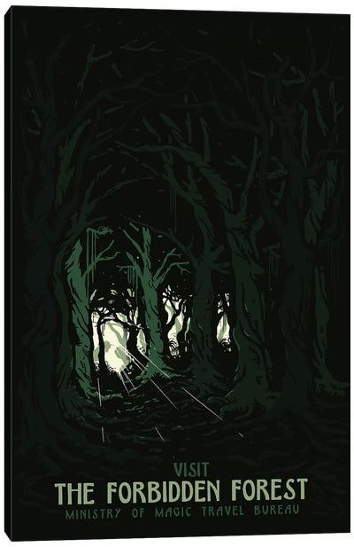 Visit The Forbidden Forest II Canvas Art Print