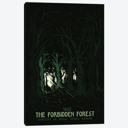 Visit The Forbidden Forest II Canvas Print #MLO140} by Mathiole Canvas Art Print