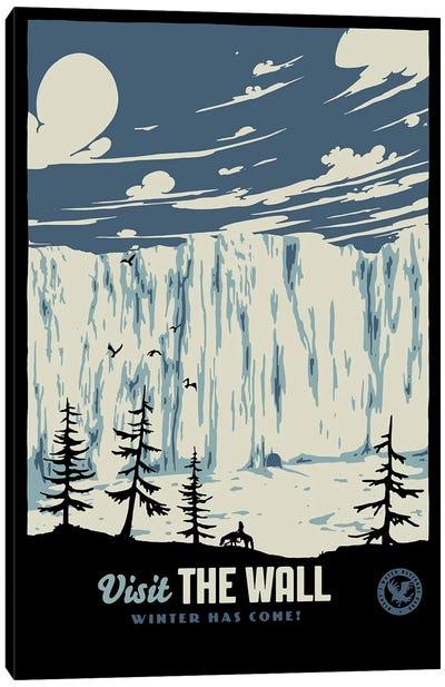 Visit The Wall II Canvas Art Print
