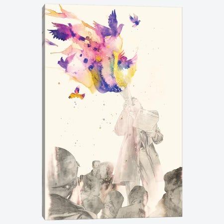 Manifesto Canvas Print #MLO18} by Mathiole Canvas Wall Art