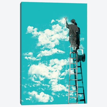 Optimist Canvas Print #MLO19} by Mathiole Canvas Wall Art